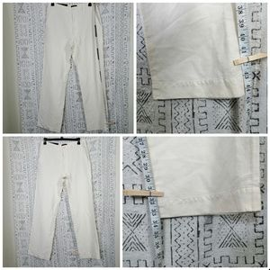 Banana Republic Pants - NWT Cream Banana Republic Linen Dawson Pants 34L